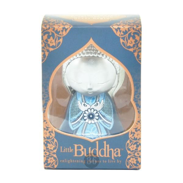 Little Buddha Schlüsselanhänger in silber/dunkelblau
