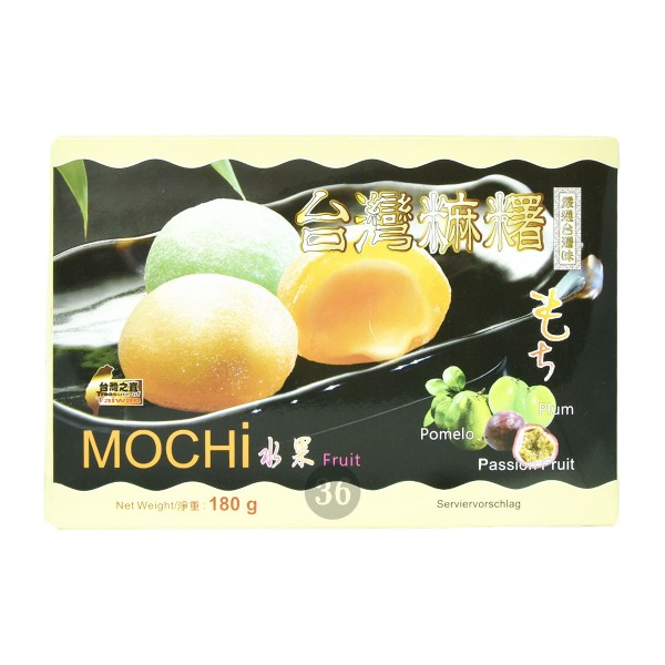 Royal Family - Mochi-Mischung (Pflaume, Pampelmuse, Maracuja), 180g