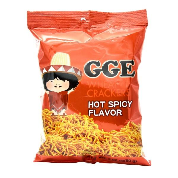 GGE - Weizen-Cracker Hot-Spicy-Geschmack, 80g