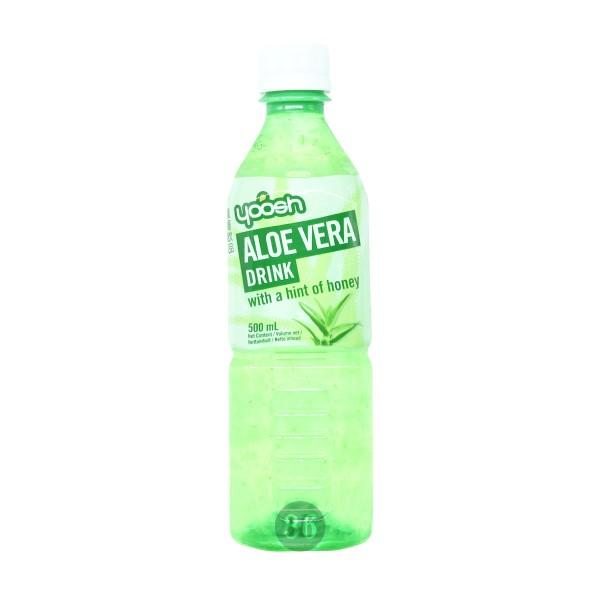 yoosh - Aloe-Vera-Getränk mit Honig, 500ml