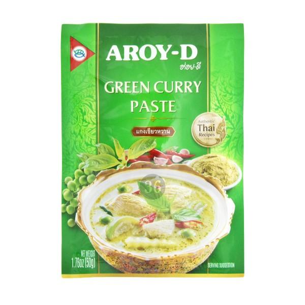 Aroy-D - Grüne Curry-Paste, 50g