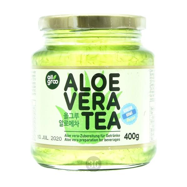 AllGroo - Aloe-Vera-Tee-Konzentrat, 400g