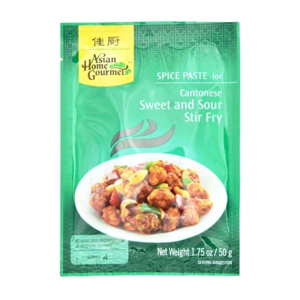 Asian Home - Cantonese Sweet&Sour Pfannengericht, 50g