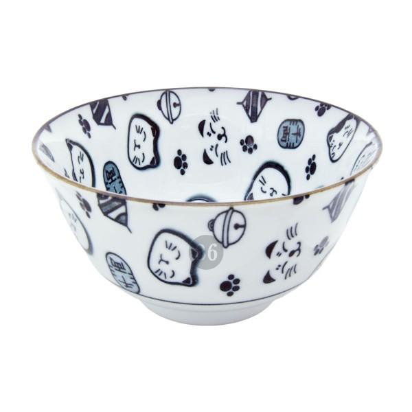 "Tokyo Design - ""Lucky Cat Black"" Bowl, 12,7x6,5cm"
