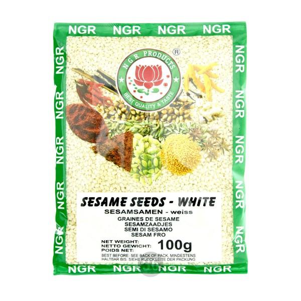 NGR - weißer Sesam, 100g
