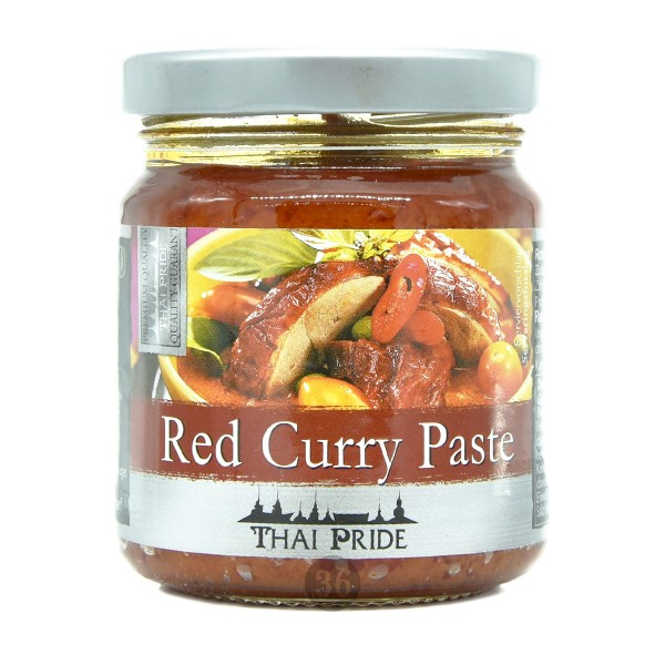Thai Pride - Rote Curry-Paste, 195g