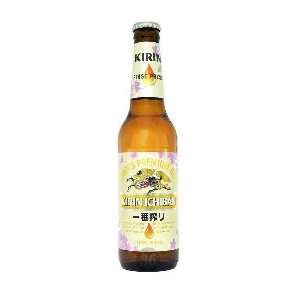 Kirin Ichiban - japanisches Premium Bier, 330ml