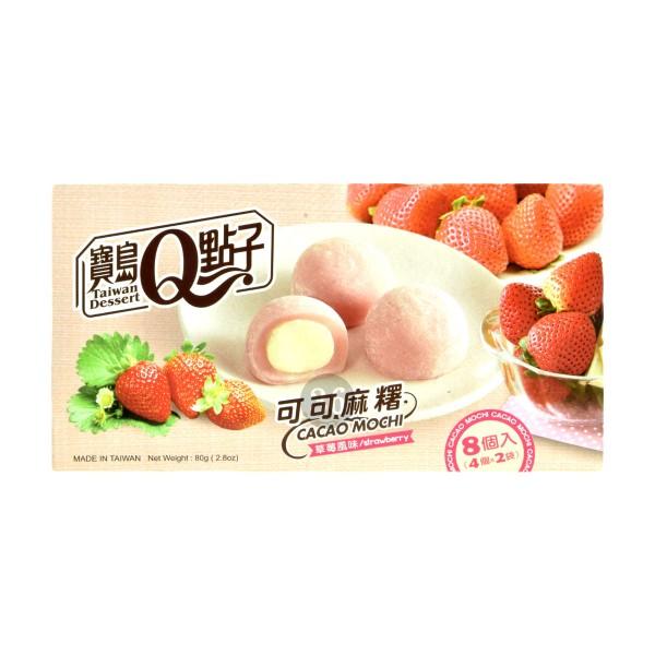 Taiwan Dessert - Erdbeer-Mochi, 80g