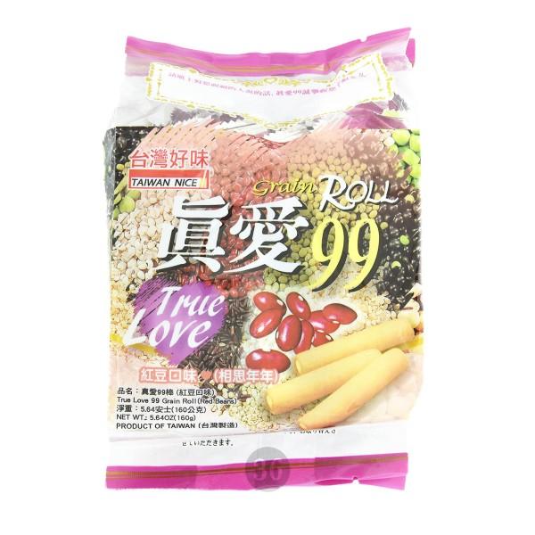 Taiwan Nice - Snack-Rollen mit roten Bohnen, 160g