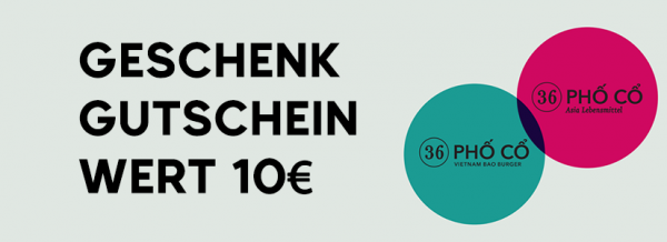 Geschenkgutschein - 10€