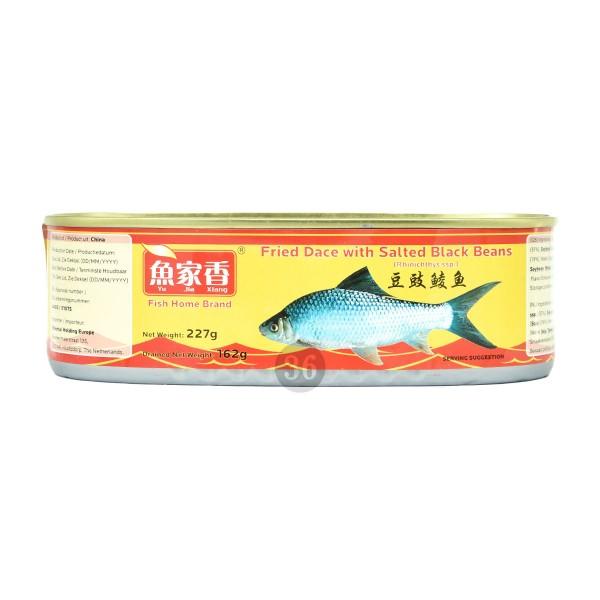 Fish Home - Gebratener Weißfisch mit schwarzen Bohnen, 162g