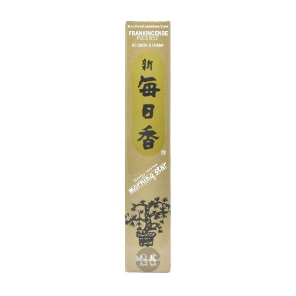 """Nippon Kodo - Räucherstäbchen """"Weihrauch"""" inkl. Halterung, 50Stück"""