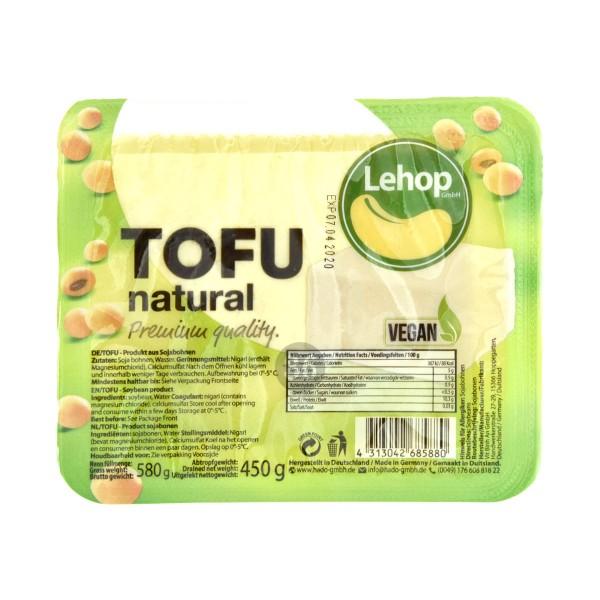 Lehop - Premium-Tofu, 450g