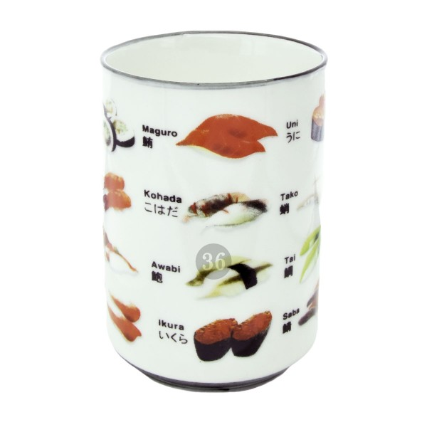 """Sushi"" Becher, 11x7cm"
