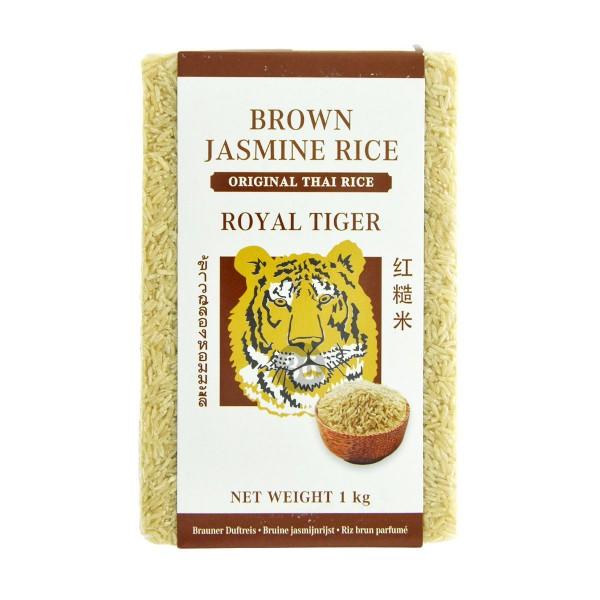 Royal Tiger - Brauner Jasmin-Reis, 1kg