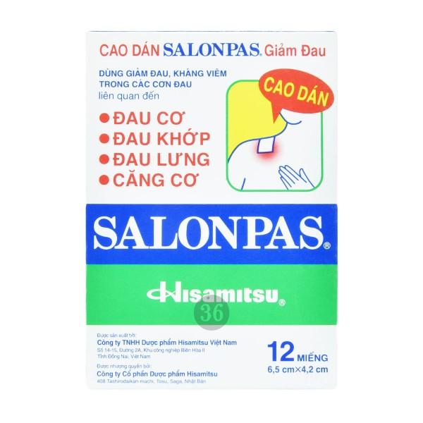 Salonpas - Schmerzpflaster, 12Stück