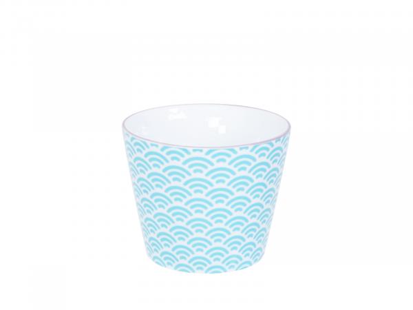 STAR/WAVE LIGHT BLUE CUP | Ø6,5CM | H8,3 | 180ML