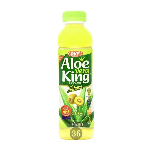 OKF - Aloe-Vera-Getränk mit Kiwigeschmack, 500ml