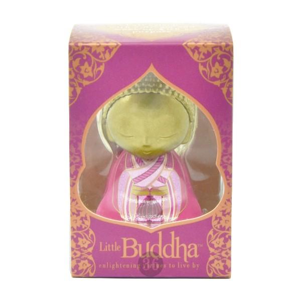 Little Buddha Schlüsselanhänger in gold/pink