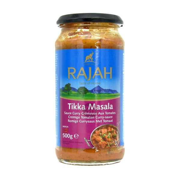 Rajah - Tikka Masala-Soße, 500g