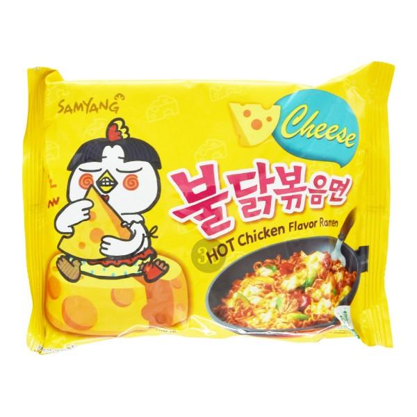 "Samyang - Instantnudeln ""Hot Chicken Cheese"", 140g"