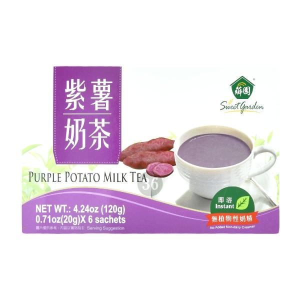 Sweet Garden - Lila-Kartoffel-Milch-Tee, 120g